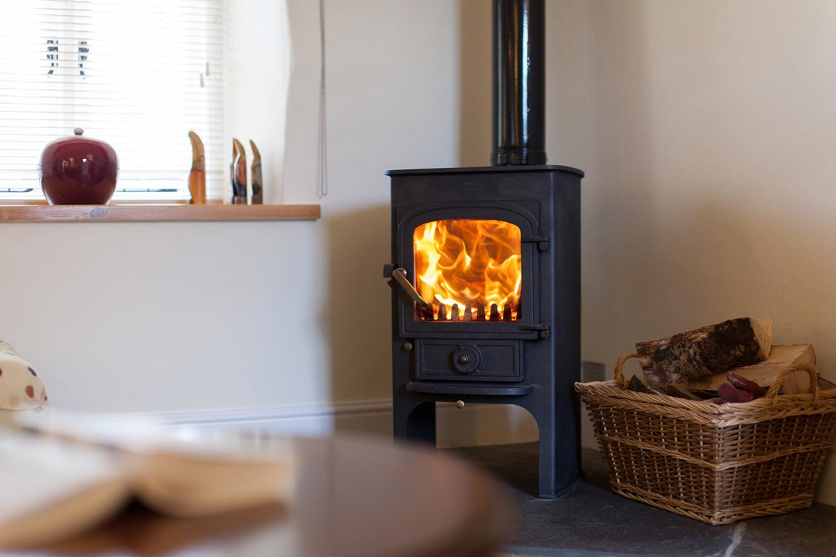 The Dairy Wood Burner