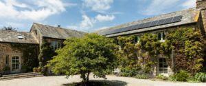 Benallack Barn Courtyard
