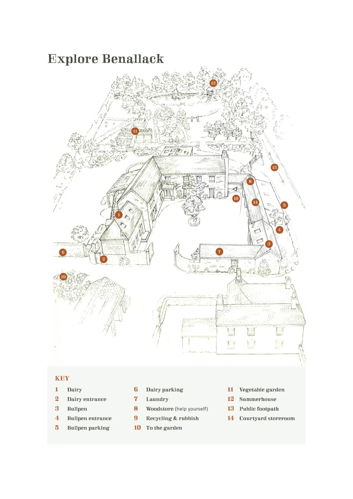 Explore Benallack Map